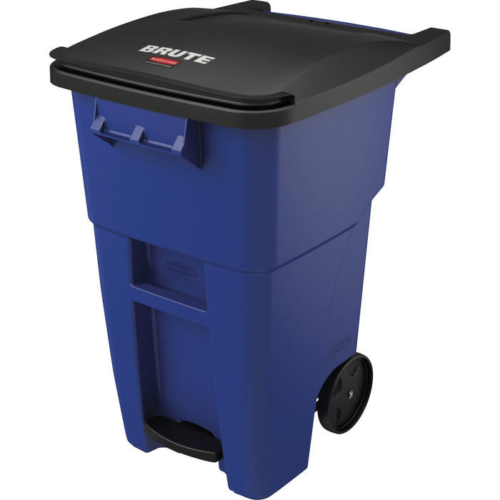 Rubbermaid Commercial Brute 50-gallon Step On Rollout Container