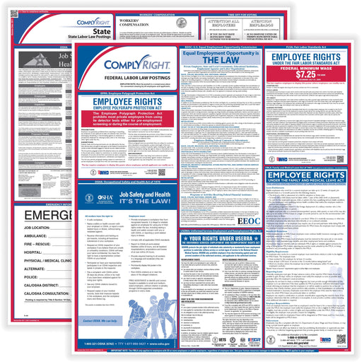 TFP ComplyRight Labor Law Poster Service