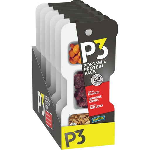Advantus P3 Peanuts/Original Jerky/Sunflower Pack