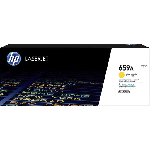 HP 659A (W2012A) Toner Cartridge - Yellow