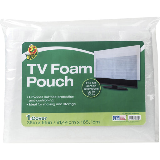 Duck Brand TV Foam Pouch