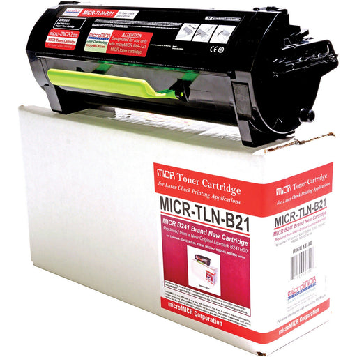 microMICR MICR Toner Cartridge - Alternative for Lexmark - Black