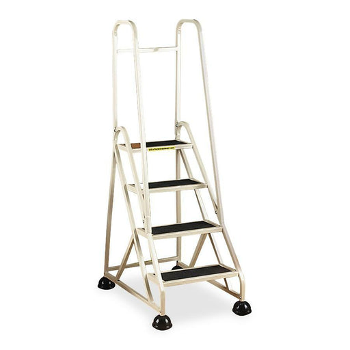 Cramer Dual Rail Four-step Aluminum Ladder