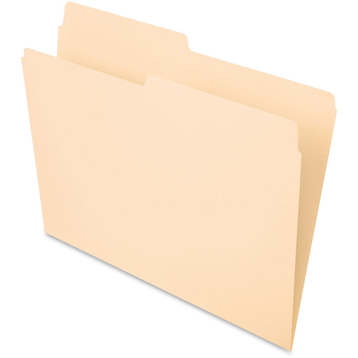Pendaflex Essentials 1/2-cut Top Tab File Folders