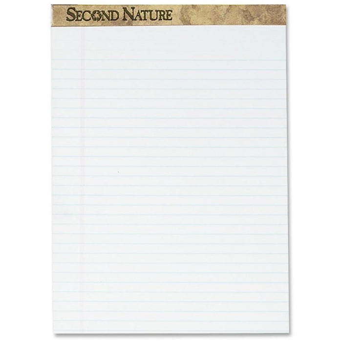 TOPS Second Nature Legal Rule Recycled Writing Pad