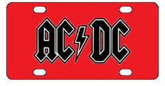ACDC License Plate