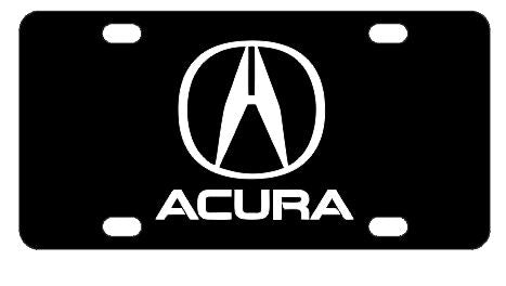Acura License Plate
