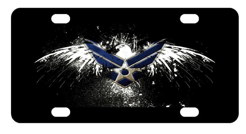 Air Force License Plate
