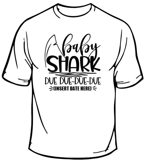 Baby Shark Due Due Due Due T-Shirt
