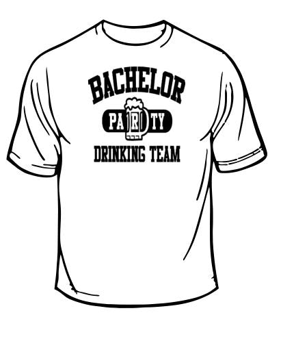 Bachelor Party Drinking Team Wedding T-Shirt