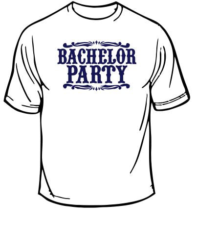 Bachelor Party Wedding T-Shirt