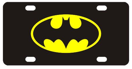 Batman Classic Logo License Plate
