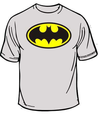 Batman Throwback Logo T-Shirt