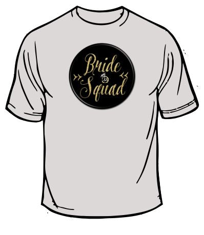 Bride Squad Wedding T-Shirt