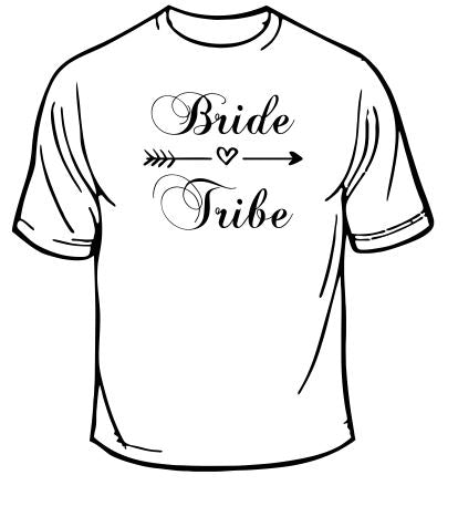 Bride Tribe Wedding T-Shirt