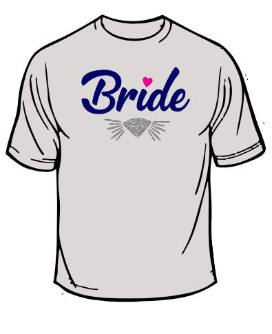 Bride Wedding T-Shirt