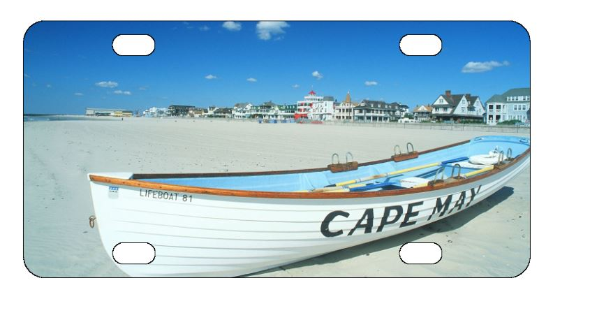 Cape May License Plate