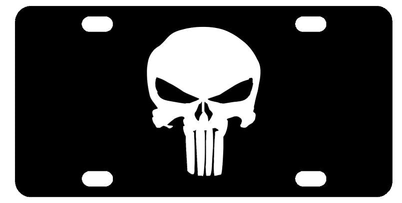 Punisher License Plate