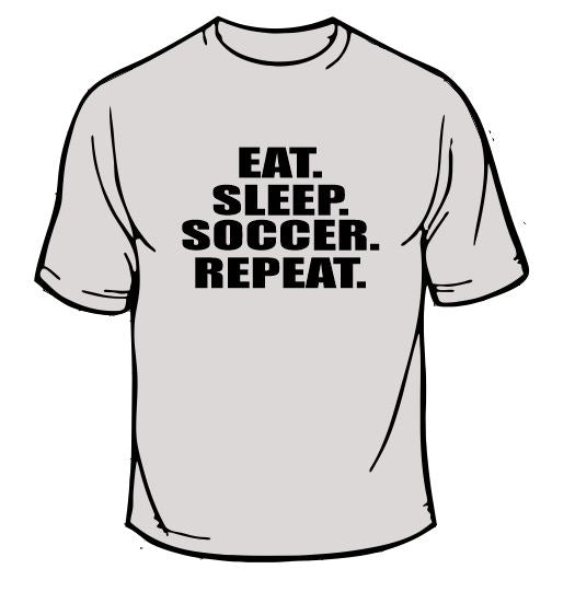 Eat Sleep Soccer Sports T-Shirt