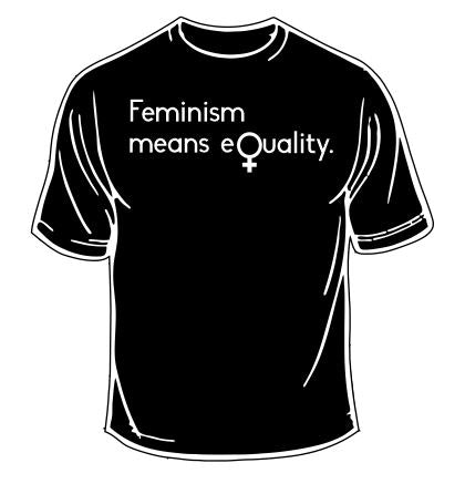 Feminism Means Equality T-Shirt