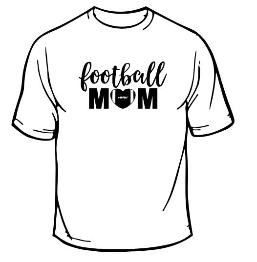 Football Mom Sports T-Shirt