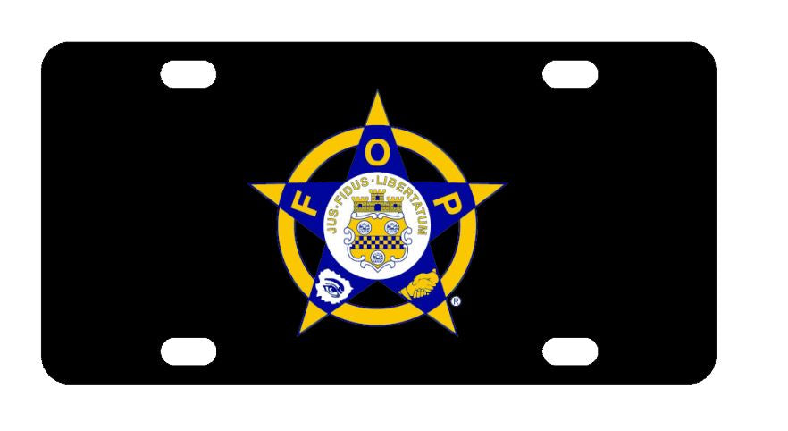 Fraternal Order Of Police License Plate