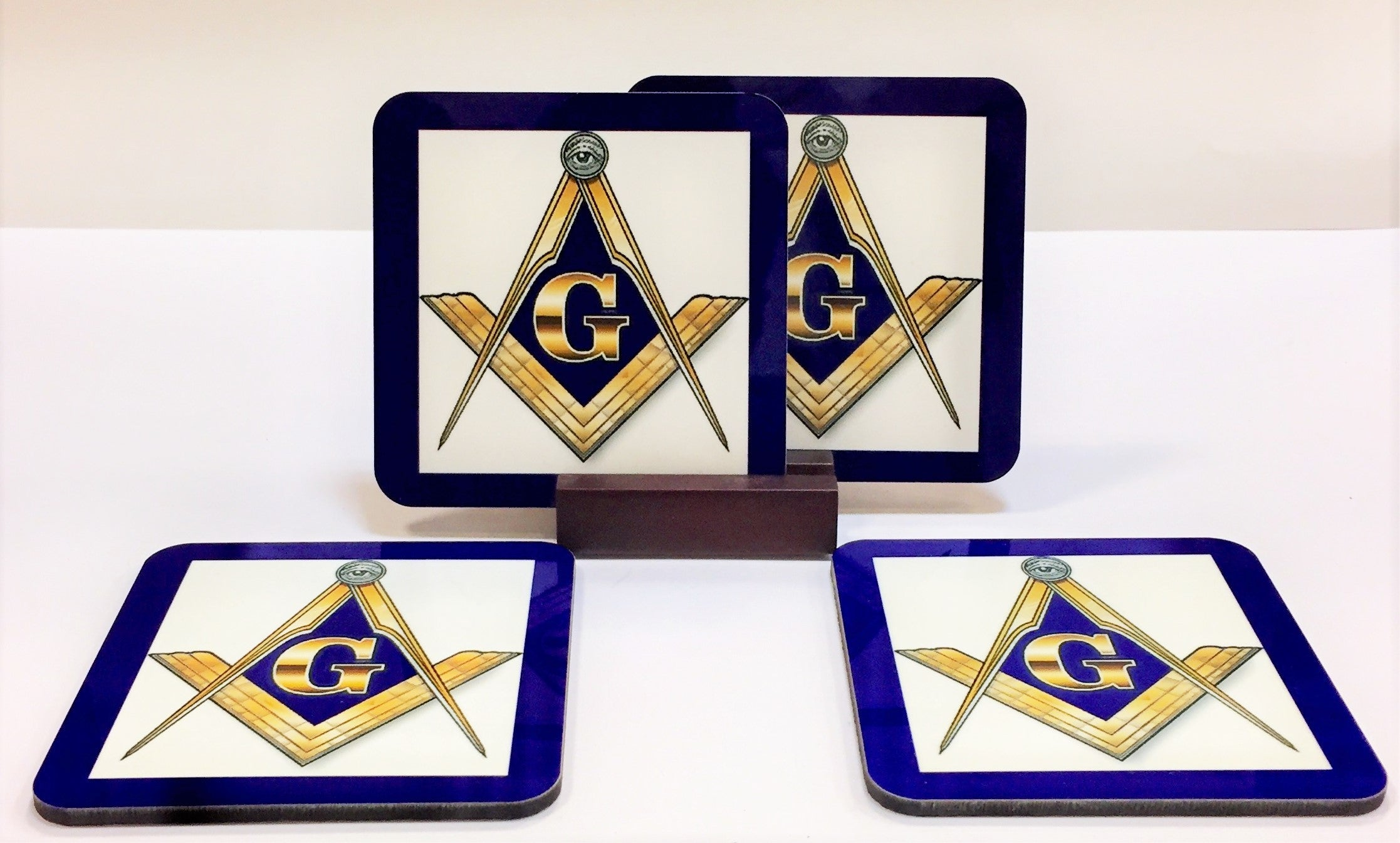 Freemason Coaster Set
