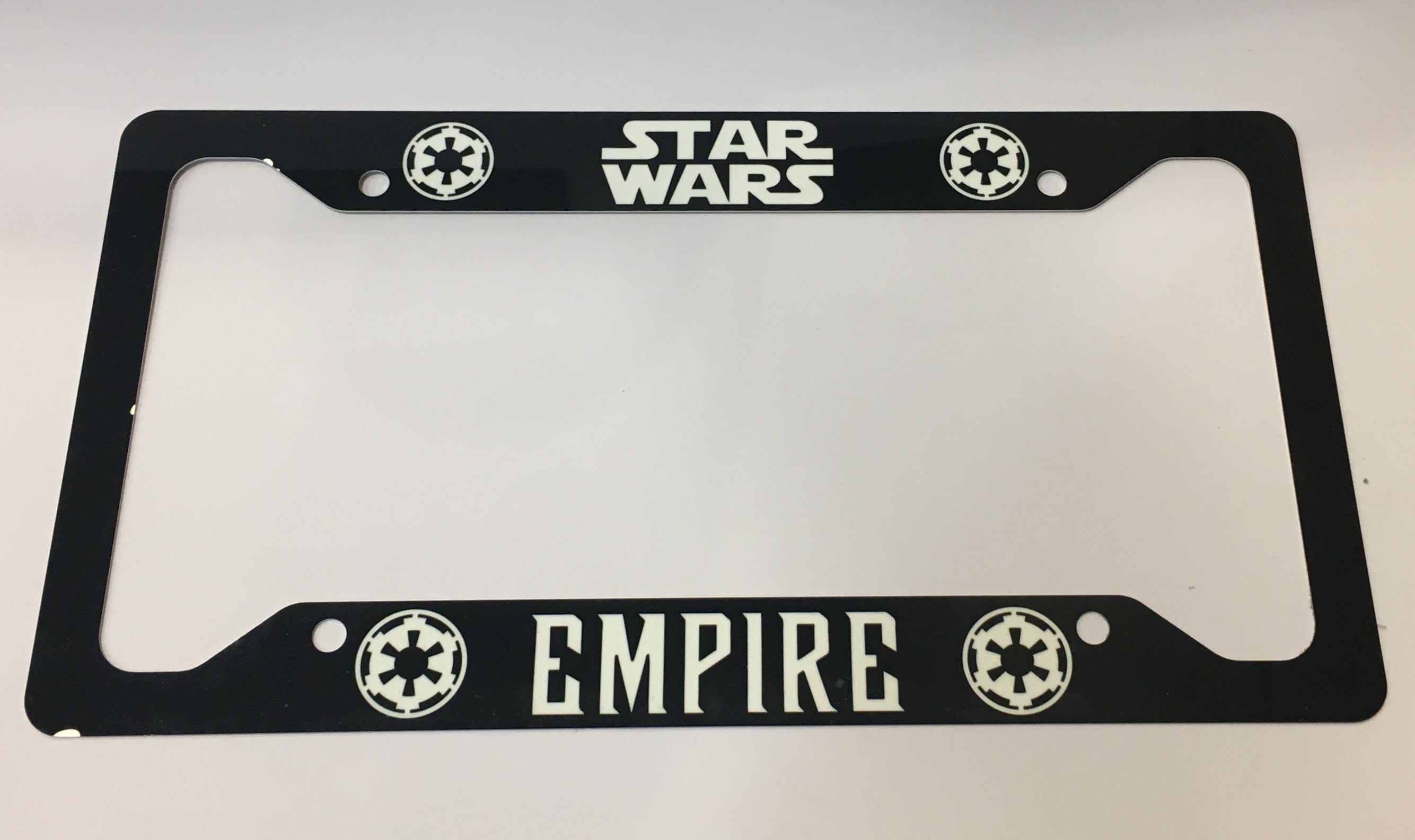 Star Wars Empire License Plate Frame