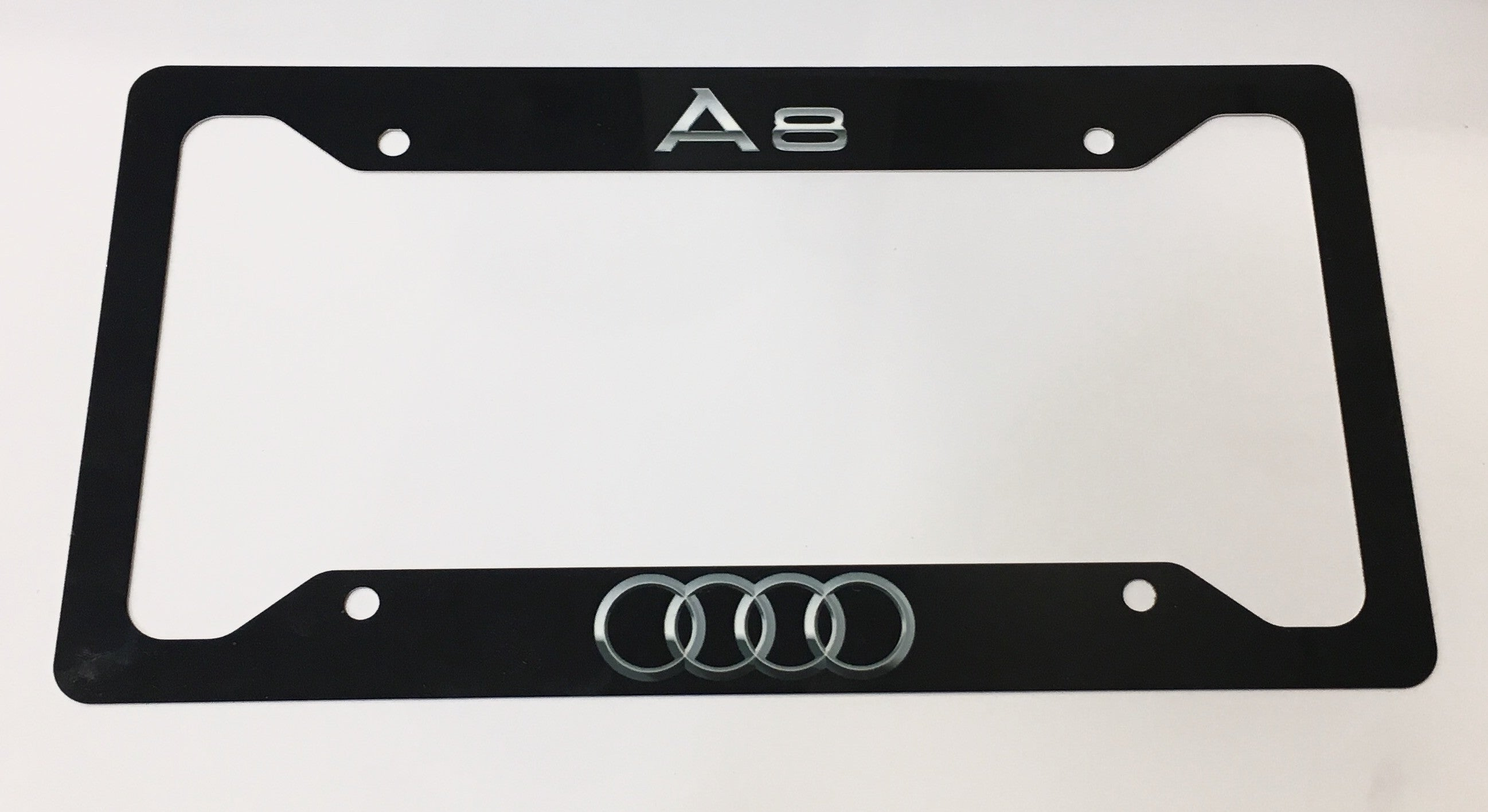 Audi A8 License Plate Frame