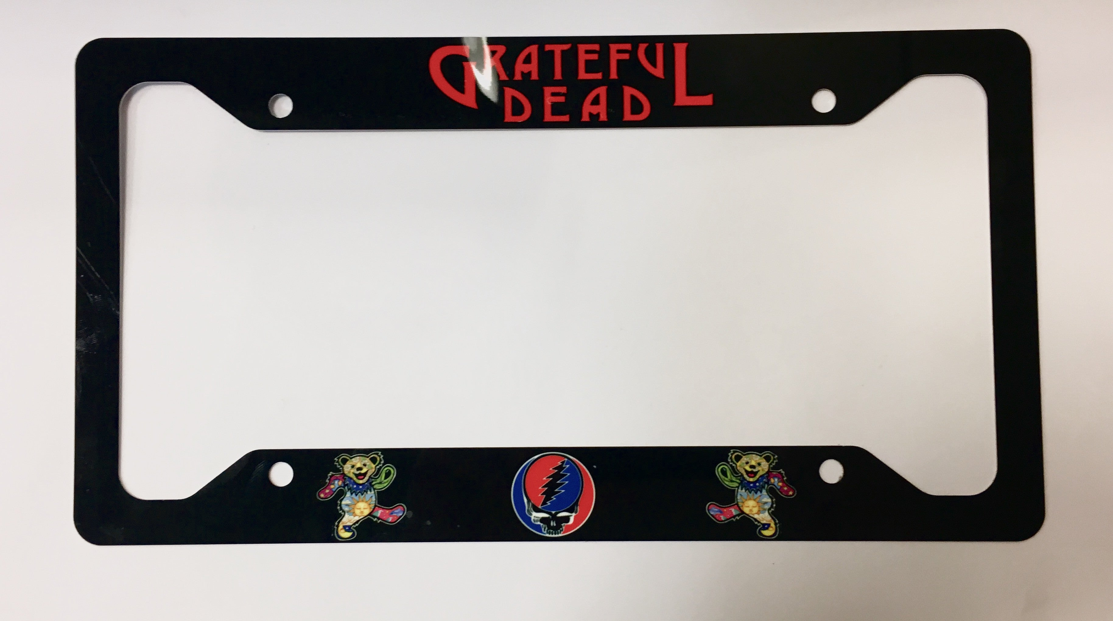 Grateful Dead License Plate Frame