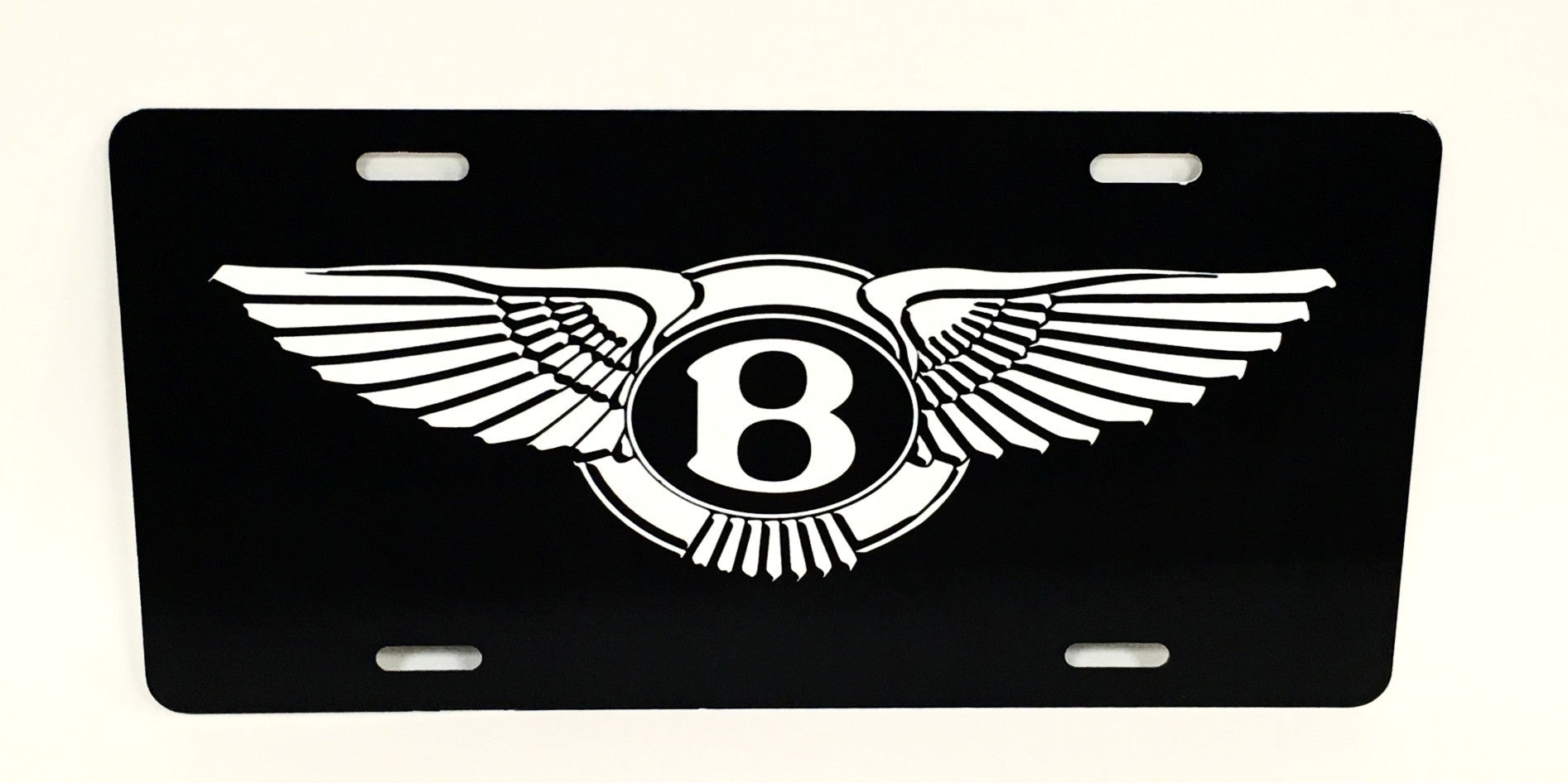 Bentley Logo License Plate
