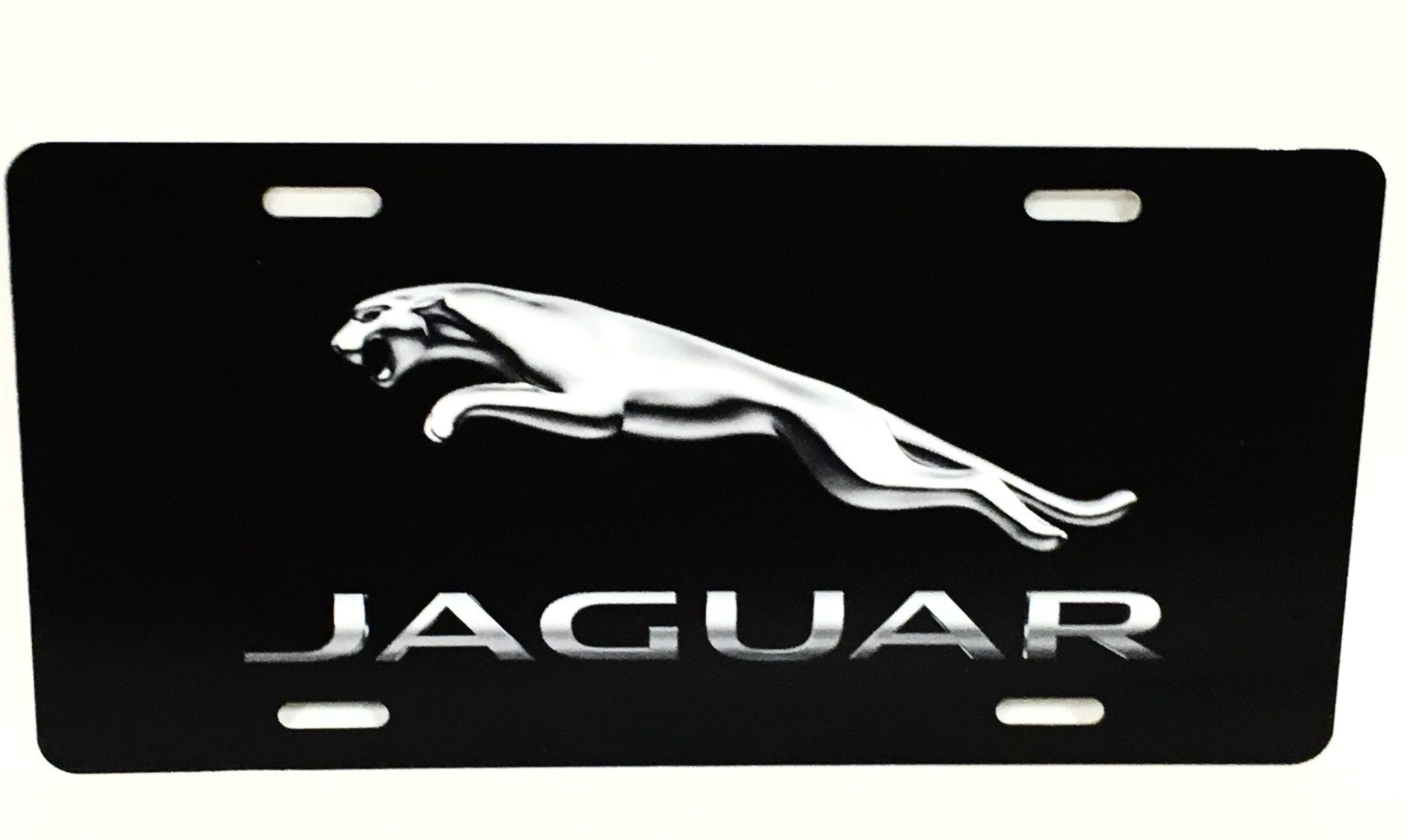 Jaguar Logo License Plate