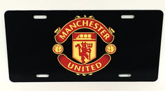 Manchester United License Plate