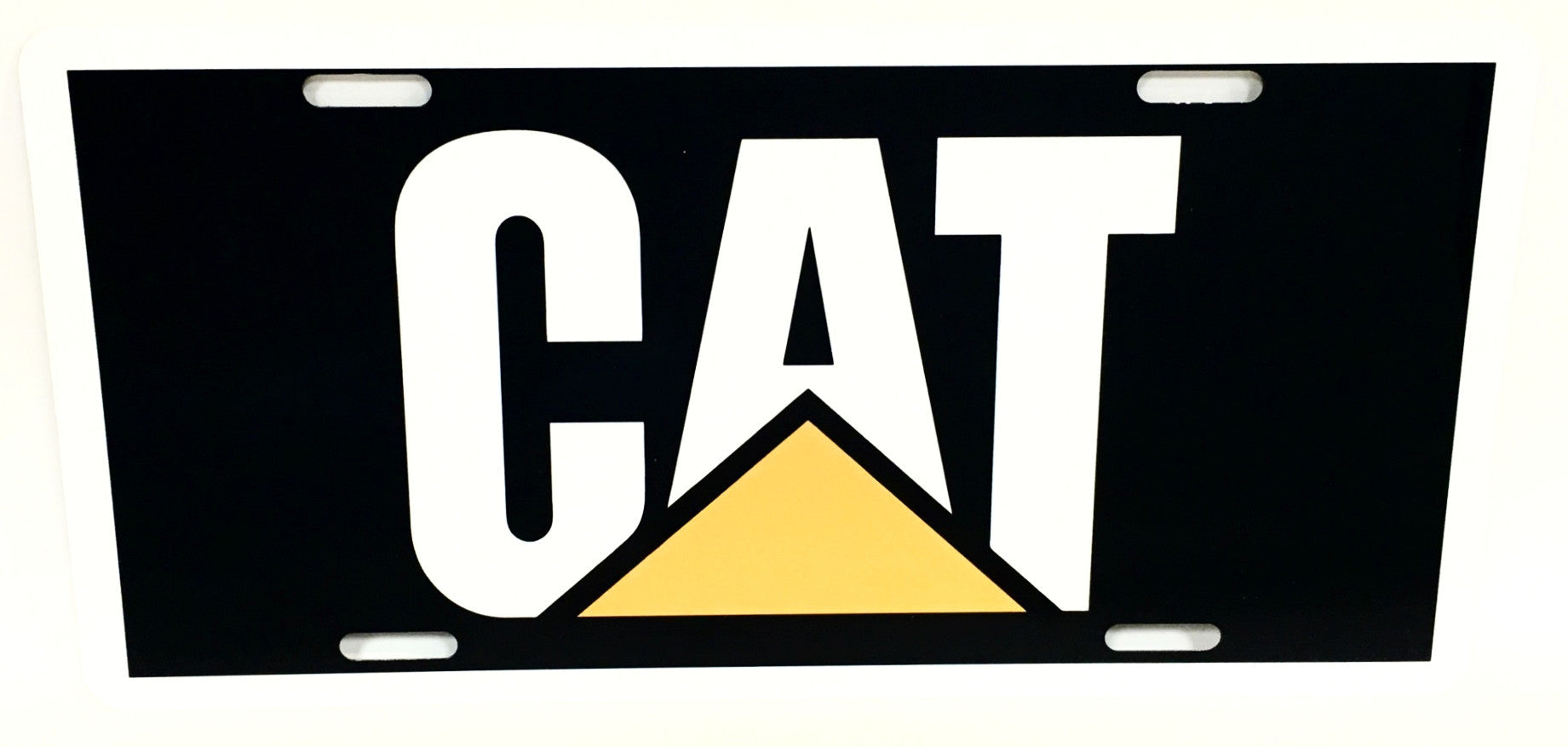 CAT License Plate