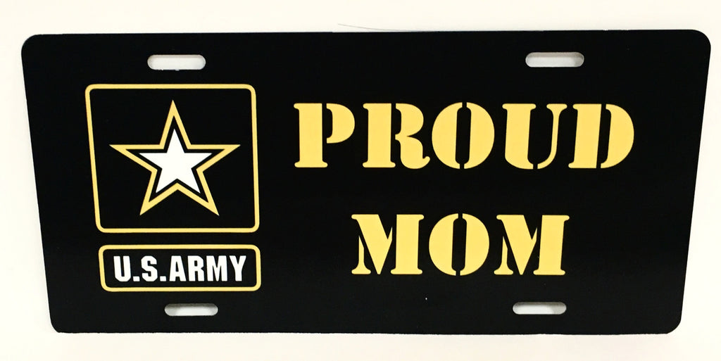 U.S. Army Proud Mom License Plate