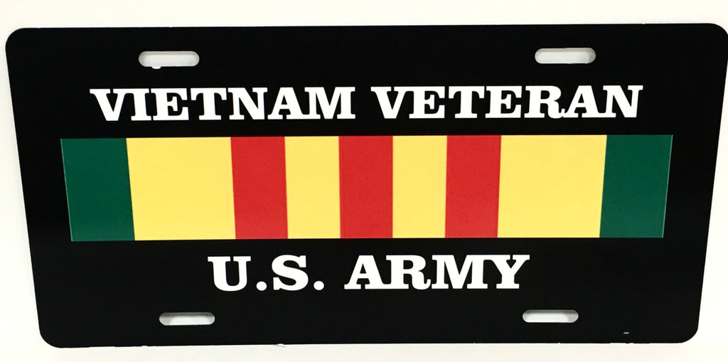 U.S. Army Vietnam Veteran License Plate