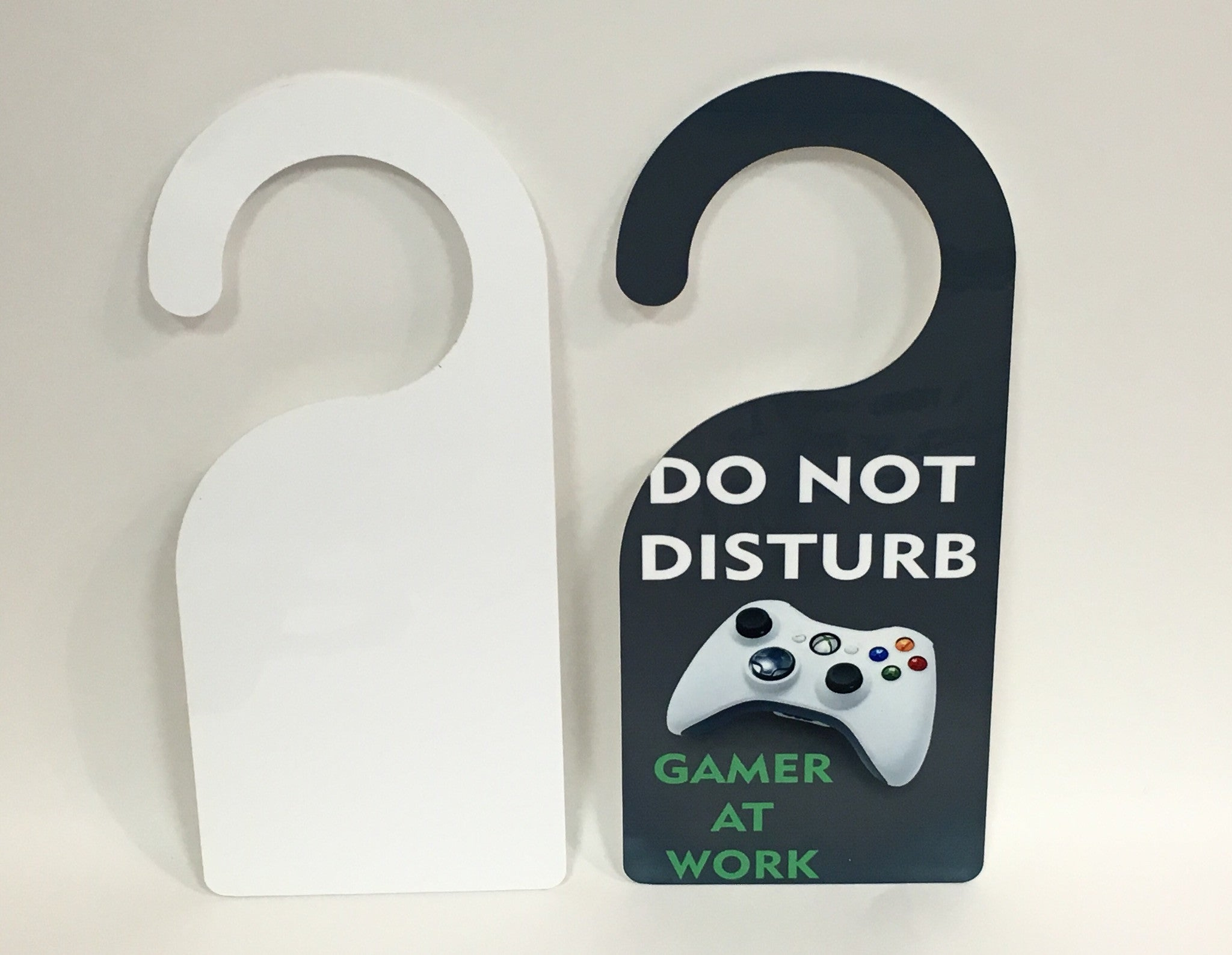 Custom Door Hanger