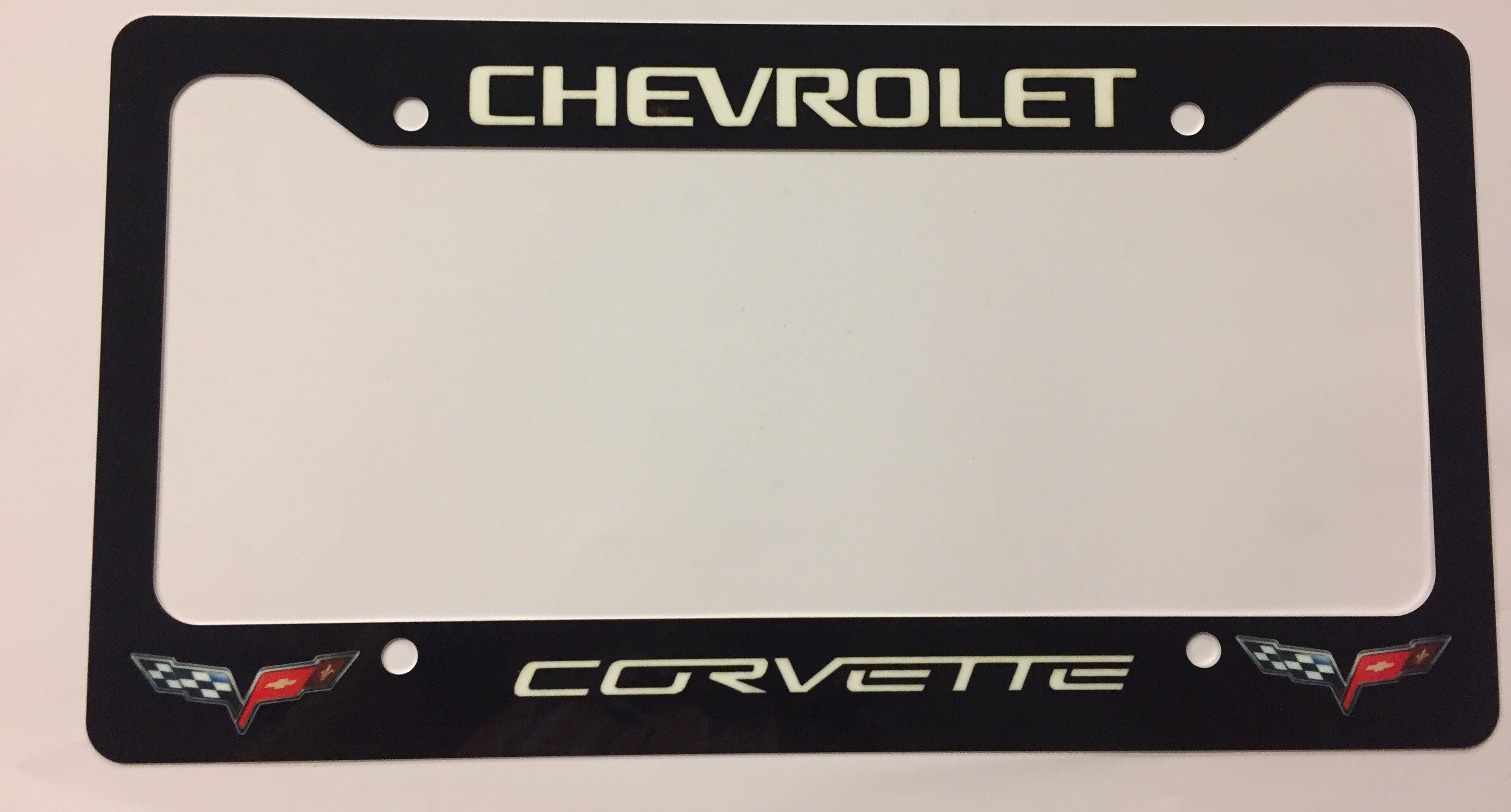 Corvette License Plate Frame
