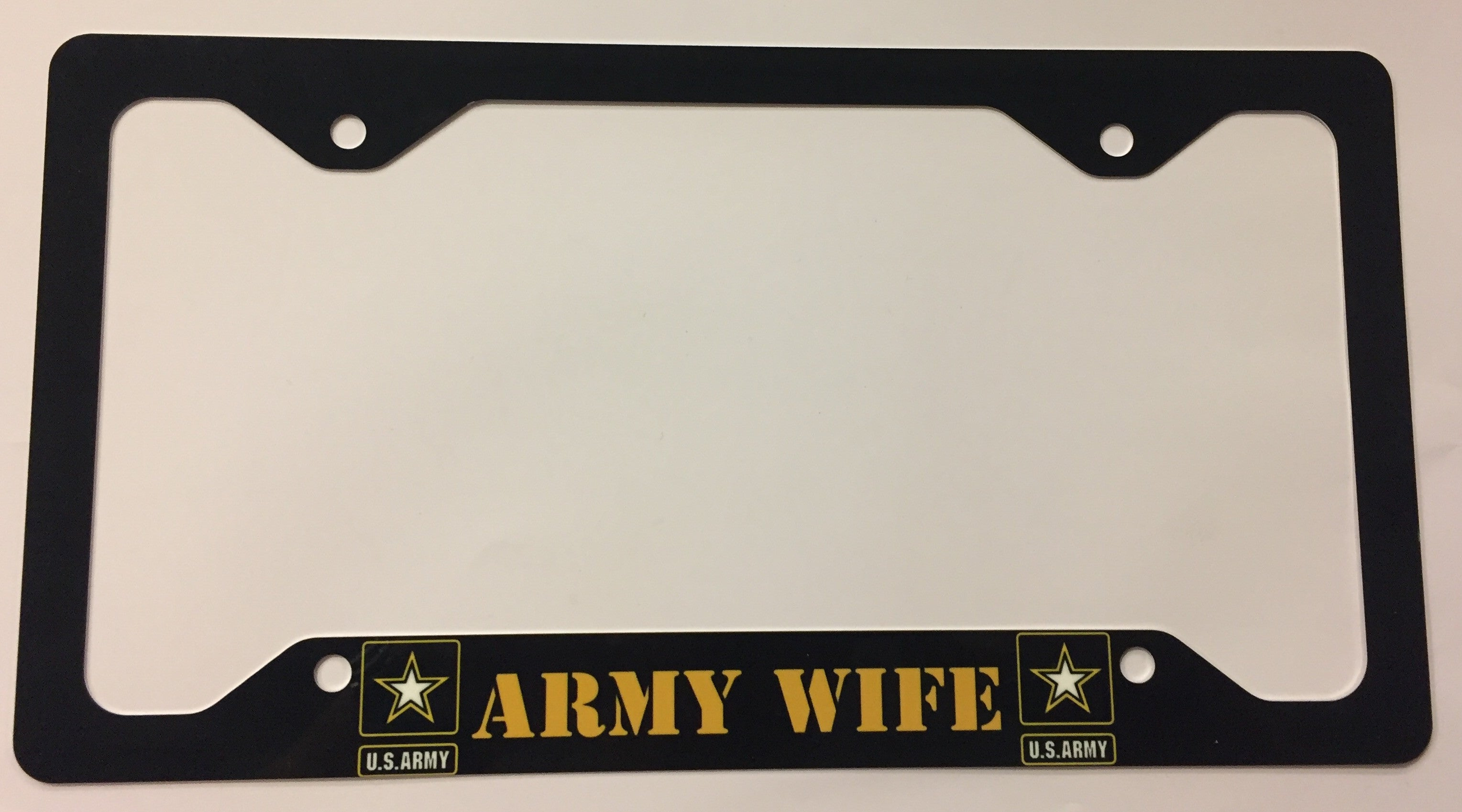 U.S. Army Wife License Plate Frame