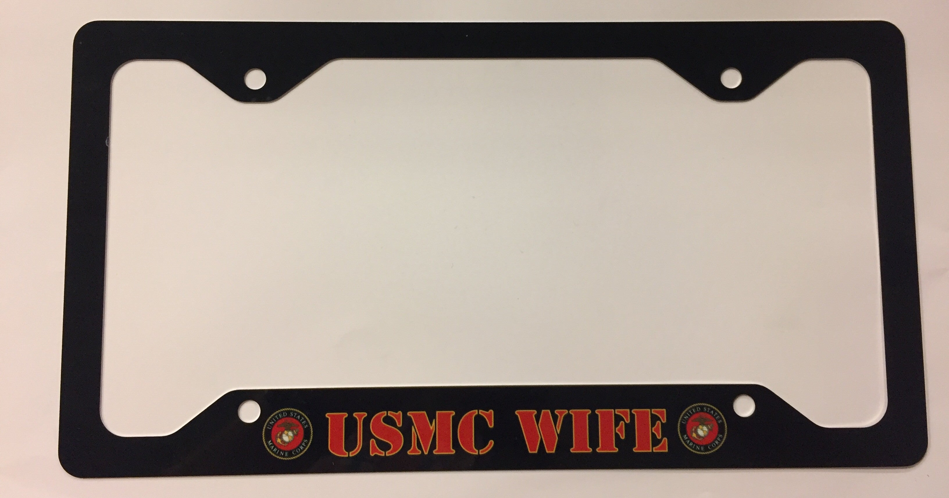 USMC Wife License Plate Frame