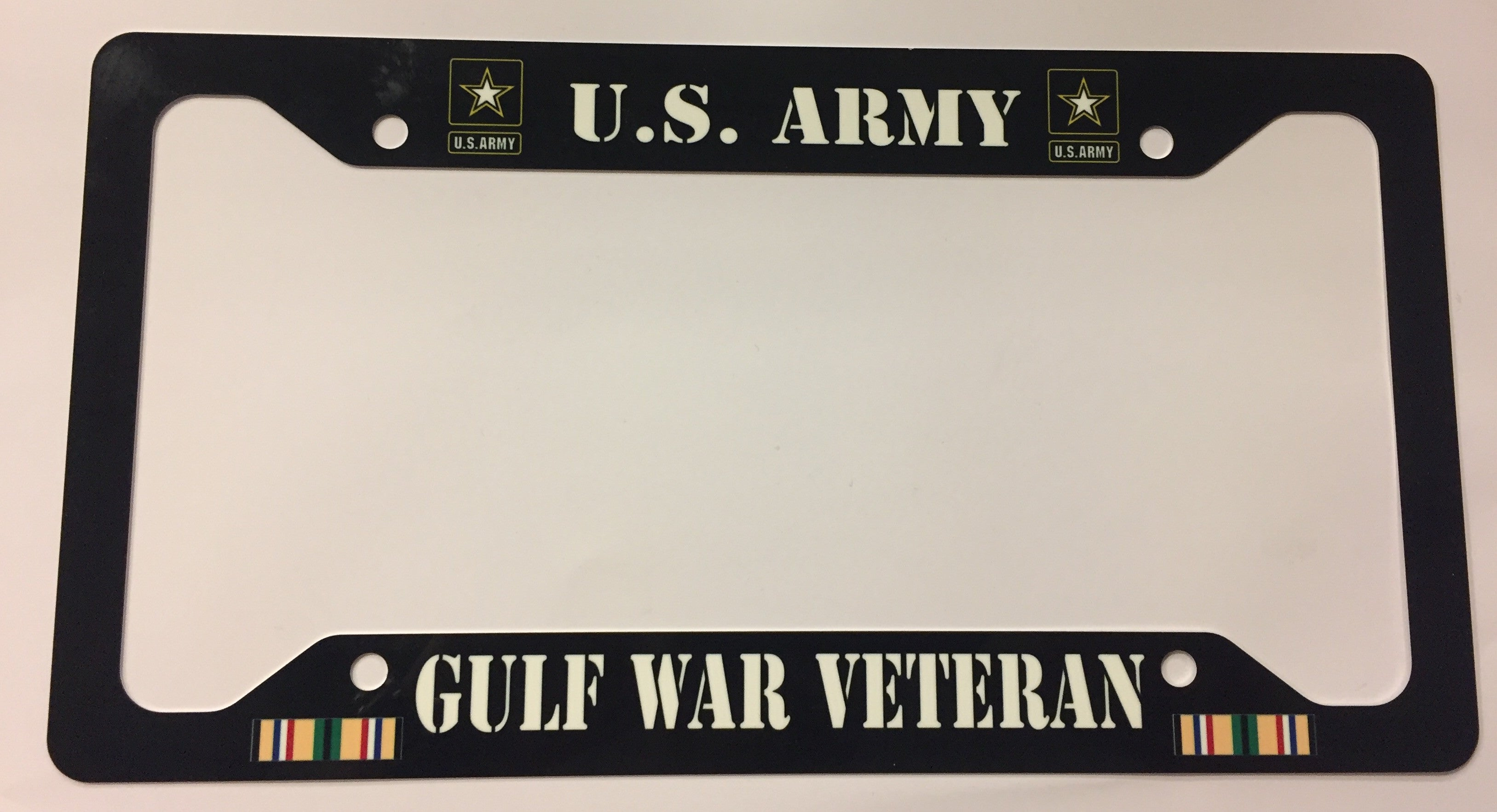 U.S. Army Gulf War Veteran License Plate Frame