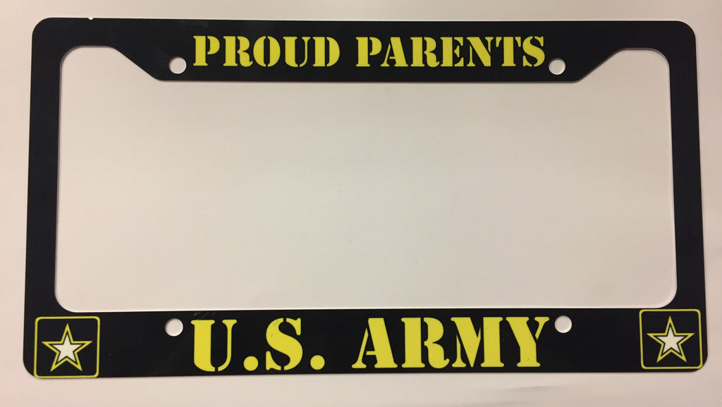 U.S. Army Proud Parents License Plate Frame