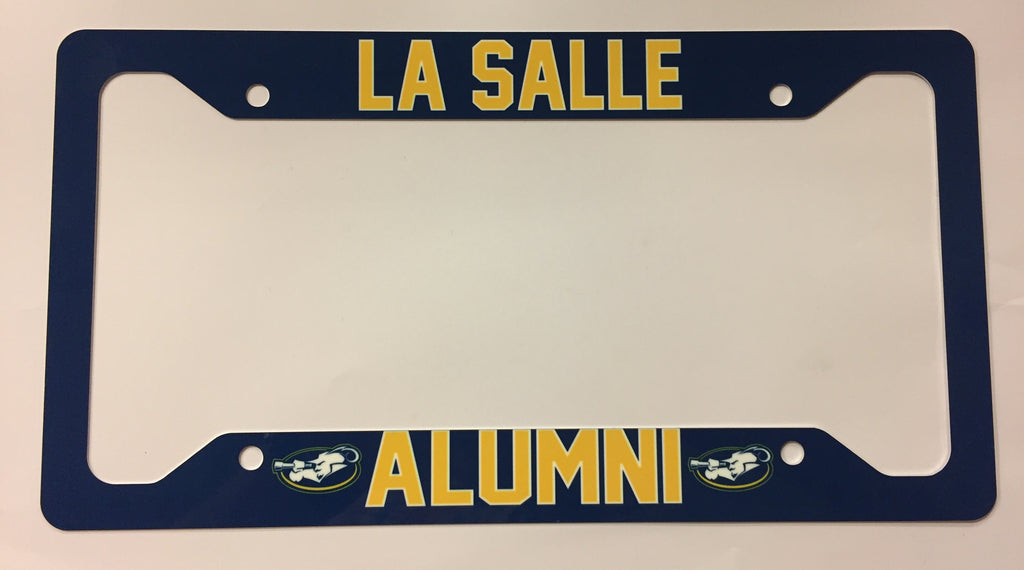 LaSalle University Alumni License Plate Frame