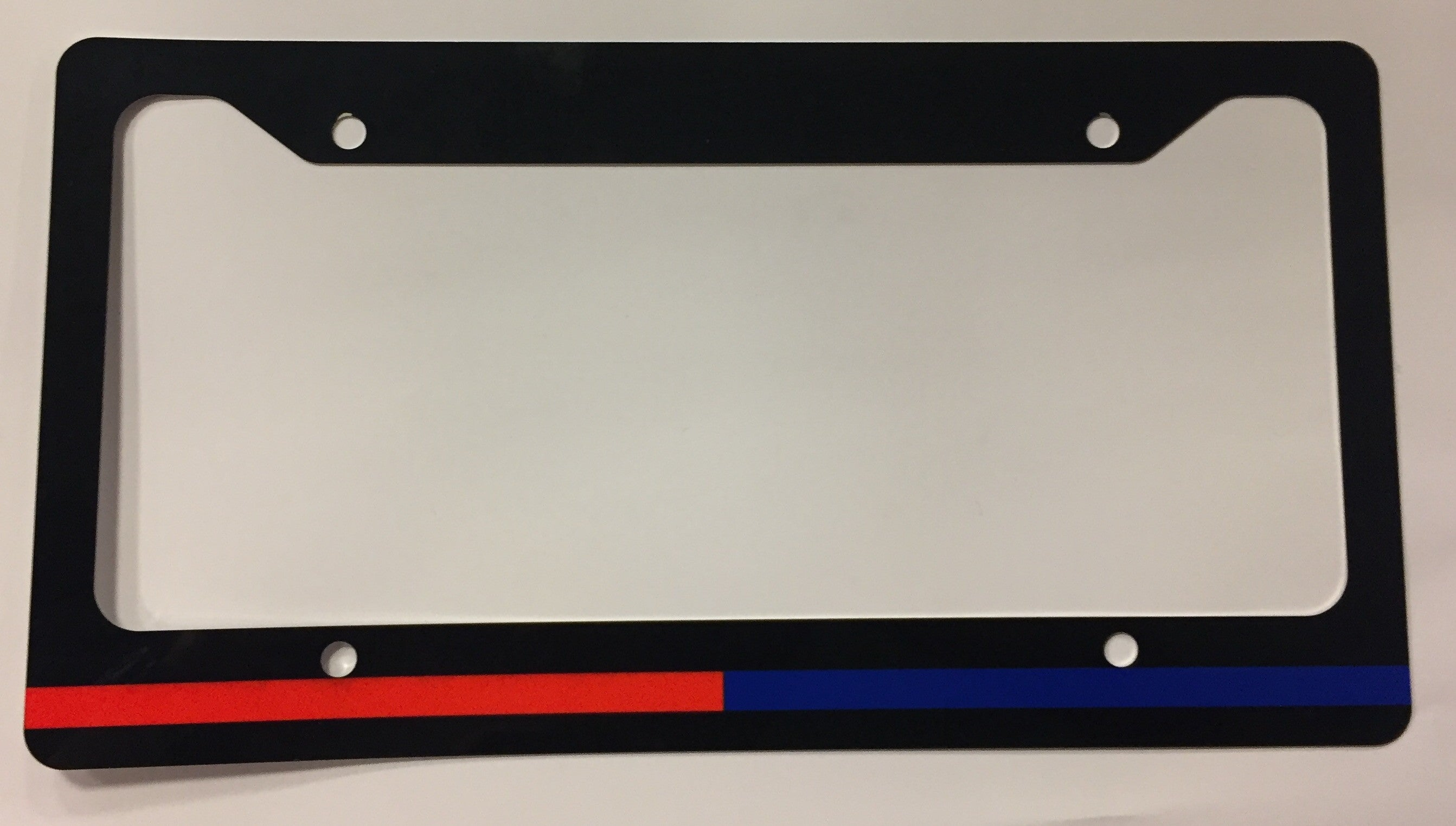 Police and FireFighter License Plate Frame
