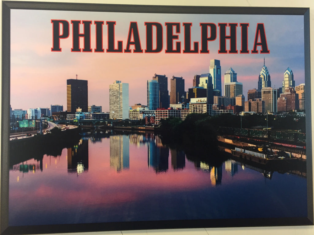 Philadelphia Skyline Plaque