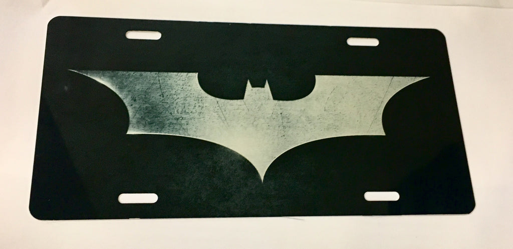 Batman Dark Knight Logo License Plate