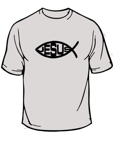 Jesus Christian Fish T-Shirt