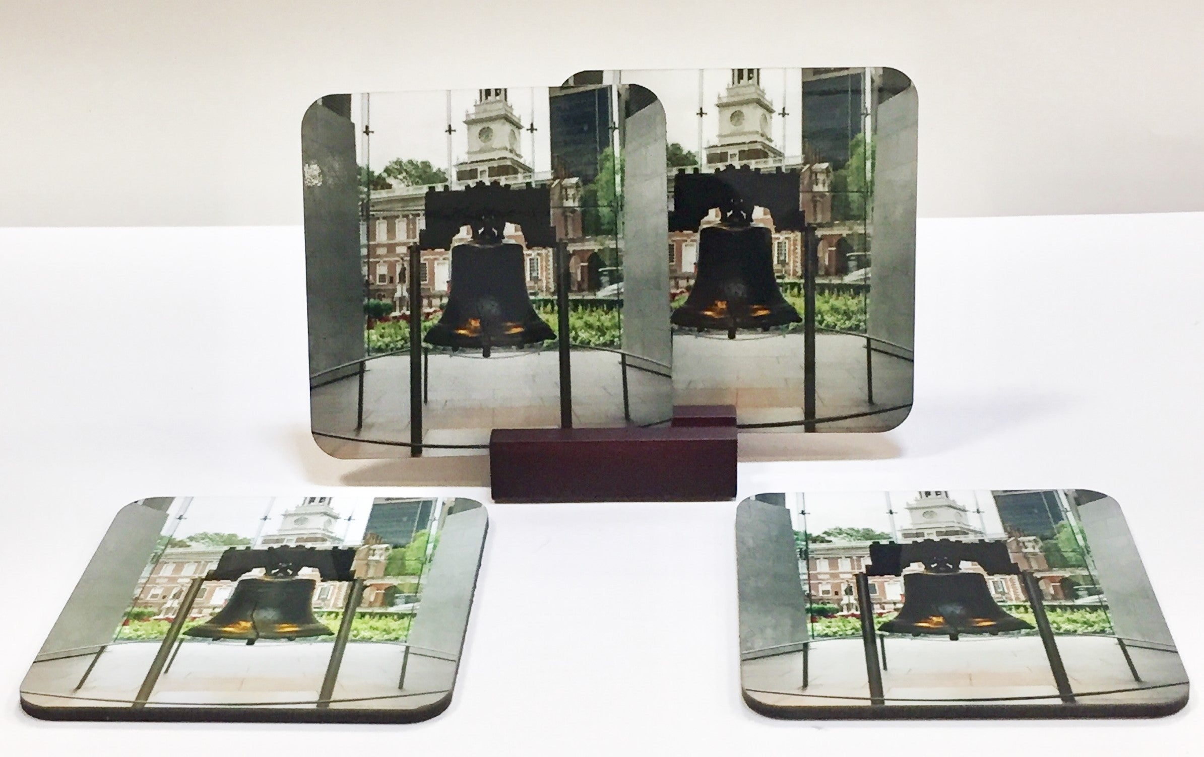 Liberty Bell Coaster Set