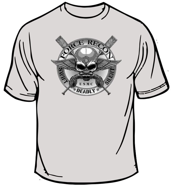 Marines USMC Force Recon T-Shirt