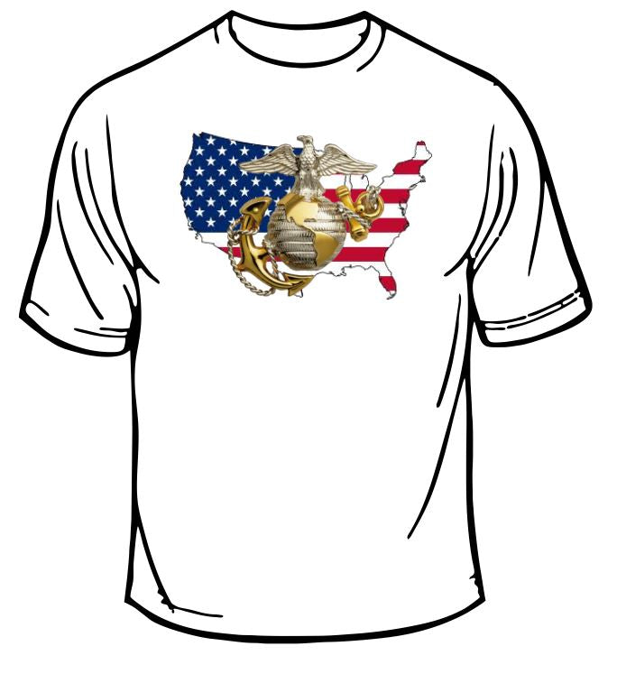 Marines USMC USA T-Shirt